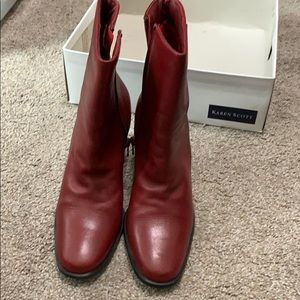 Brand new Red boots